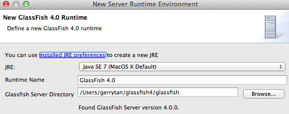 glassfish eclipse setup 1